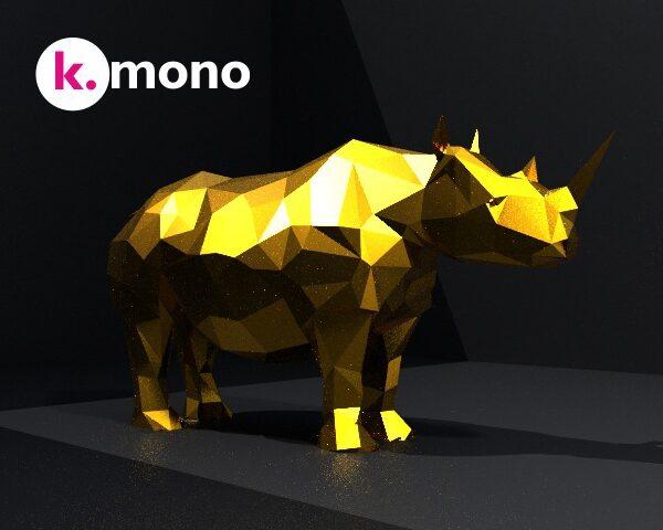 Rinoceronte 3D