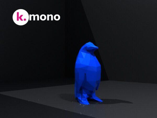 Pingüino blue